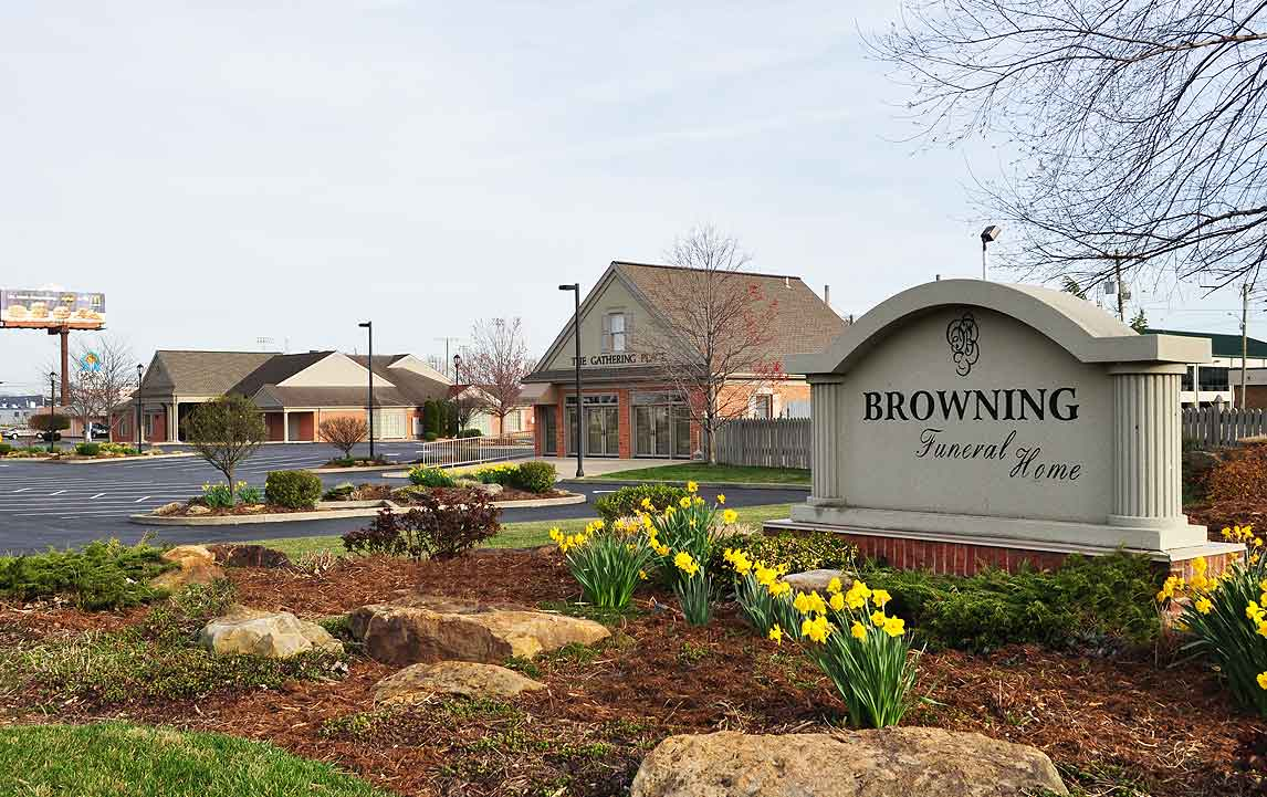 Browning Funeral Home with Gathering Place