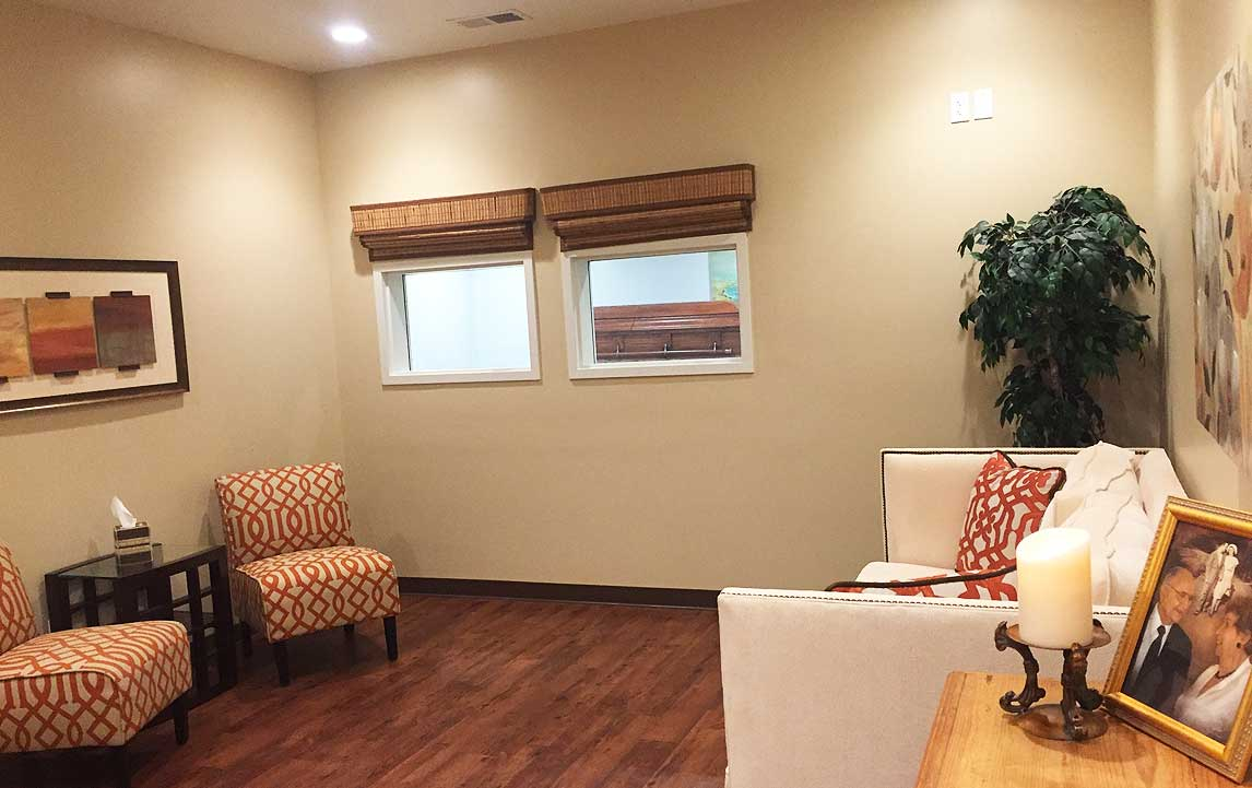 Cremation Centers Family Private Gathering Room